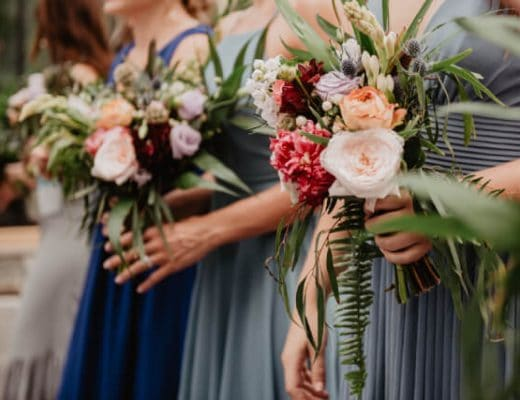 Best Bridesmaid Flower Bouquet