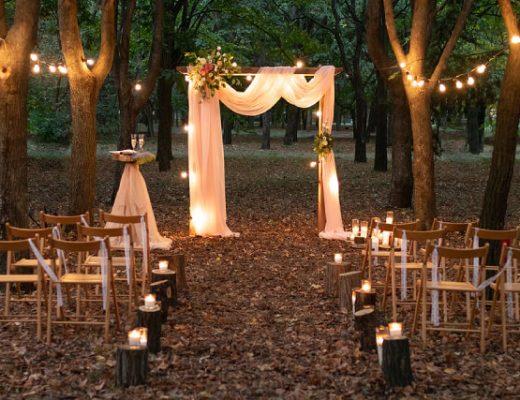 Best Celebrity garden wedding inspiration